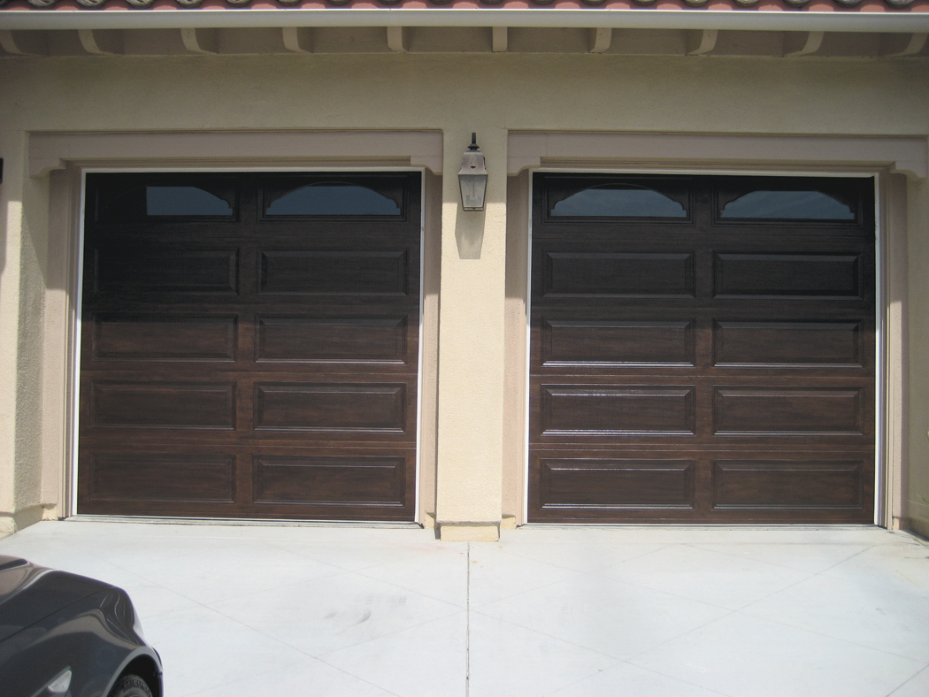 Faux for Garage door finishes